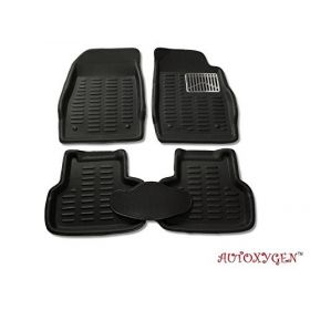 TATA Zest 3D/4D CAR Foot Mat (Black) Floor Mat