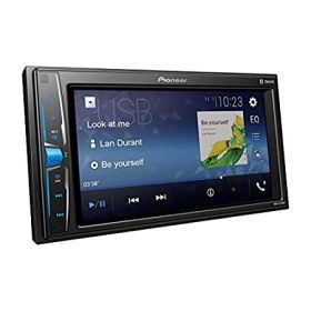 "Pioneer MVH219BT 6.2"" wvga touchscreen car AV receiver with Bluetooth and Mirrorlink (Black)"