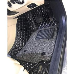 Hyundai Venue 7D Car Foot Mat (Black) Floor Mat