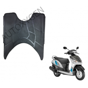Yamaha Alpha Scooter Foot Mat Black Floor Mat