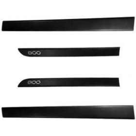 Maruti Suzuki Alto 800 Side Door Beading Black Door Protector (Set Of 4 Pcs.)