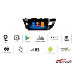 Toyota Corolla Altis Android System 9 Inch MP4 Music Player HD 1080P Touch screen