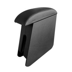 Hyundai Santro Xing  Custom Fit Wooden Console Arm Rest (Black)