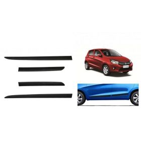 Maruti Suzuki Celerio Side Door Beading Black Door Protector (Set Of 4 Pcs.)