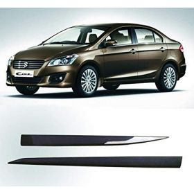Maruti Suzuki Ciaz Side Door Beading Black Door Protector (Set Of 4 Pcs.)