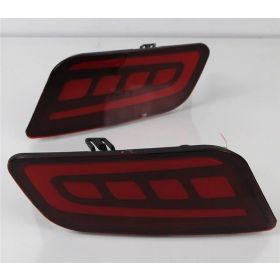 Autoxygen Back Bumper Rear Reflector DRL Ford Endeavour New - Set of 2 Pcs