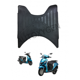 Yahama Fasino Scooter Foot Mat Black Floor Mat