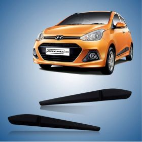 Hyundai Grand i10 Side Door Beading Black Door Protector (Set Of 4 Pcs.)