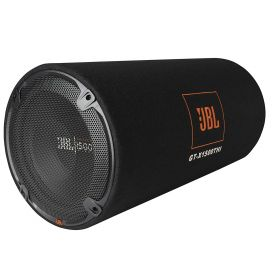 JBL GT-X1500THI 12 inch 1500 Watts Subwoofer in a Bass Reflex Tube Enclosure (Black)