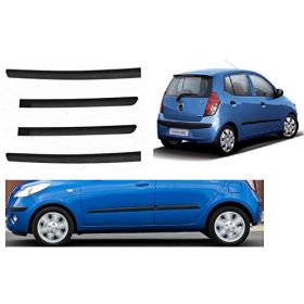Hyundai i10 Side Door Beading Black Door Protector (Set Of 4 Pcs.)