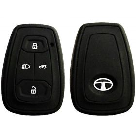 Tata Nexon/Tata Harrier Silicone Remota Key Cover (Set of 2 Pcs.)