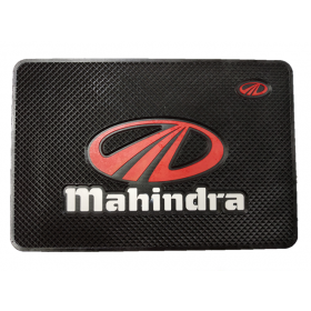 Mahindra Car Non-Slip Mat Mobile Phone Anti-Slip Pad (20x13 CM)