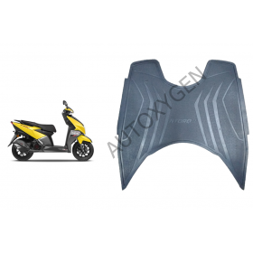 TVS Ntorq 125 Scooter Foot Mat Black Floor Mat
