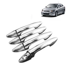 Hyundai Verna fludic (Till 2016) Car Chrome Plated Door Handle Cover