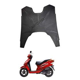 TVS Wego Scooter Foot Mat Black Floor Mat