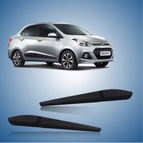 Hyundai Xcent Side Door Beading Black Door Protector (Set Of 4 Pcs.)