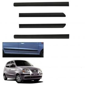 Hyundai Santro Xing Side Door Beading Black Door Protector (Set Of 4 Pcs.)