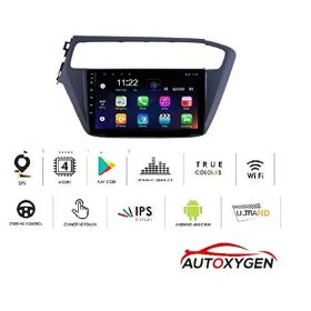 Hyundai i20 Elite 2017 Onwards Android System 9 Inch MP4 Music Player HD 1080P Touch screen