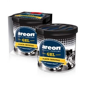 Areon Black Crystal Gel Air Freshener For Car(80g )