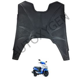 Honda Dio (New) Scooter Foot Mat Black Floor Mat