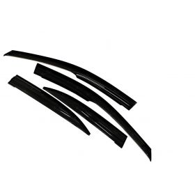 Autoxygen Car Rain Wind Door Visor Side Window Deflector For Maruti Suzuki Ciaz