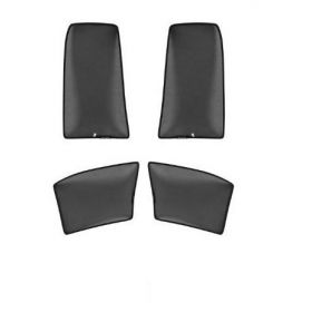 Mahindra Scorpio Car Window Fix (Non Magnetic) Sunshade Curtain