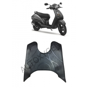 TVS Jupiter Scooter Foot Mat Black Floor Mat