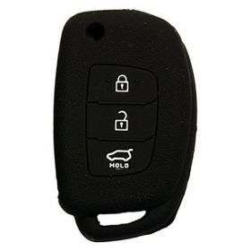Hyundai I20 Elite/Verna Fluidic/Xcent/Creta Silicone Remote Key Cover 3 Button Flip Key Only Set Of 2 pcs.