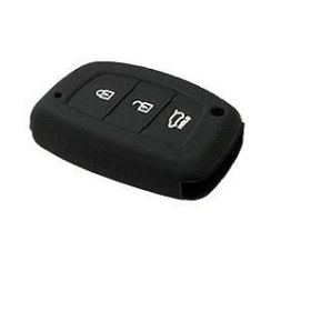 Hyundai Creta/i20 elite, Active/Grand i10/New Verna/Xcent Silicone Remote Key Cover 3 Button Push Button start only (Set Of 2 pcs.)