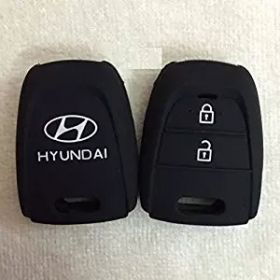 Hyundai Grand I10 Silicone Remote Key Cover 2 Button Set Of 2 pc.