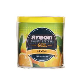 Areon Lemon Gel Air Freshener For Car (80g)