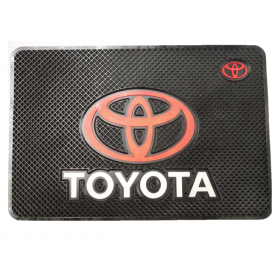Toyota Car Non-Slip Mat Mobile Phone Anti-Slip Pad (20x13 CM)