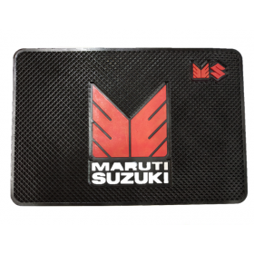 Maruti Car Non-Slip Mat Mobile Phone Anti-Slip Pad (20x13 CM)