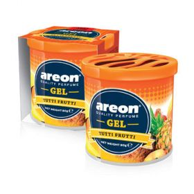 Areon Tutti Frutti Gel Air Freshener For Car (80g)