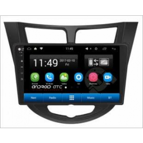 Hyundai Verna Fludic Android System 9.5 Inch MP4 Music Player HD 1080P Touch screen