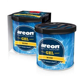 Areon Wish Gel Air Freshener for Car (80g)