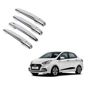 Hyundai Xcent Car Chrome Plated Door Handle Cover